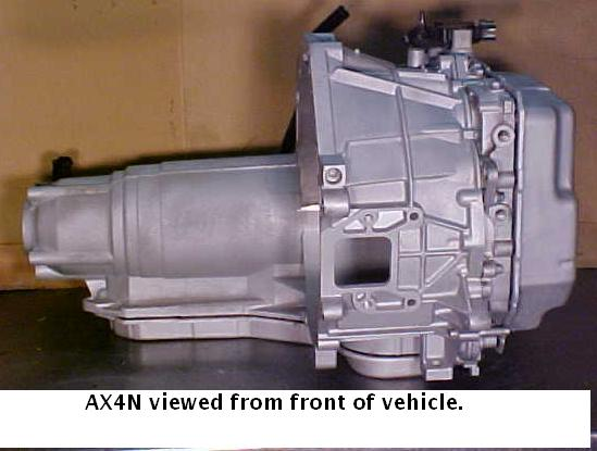 ford axn transmission