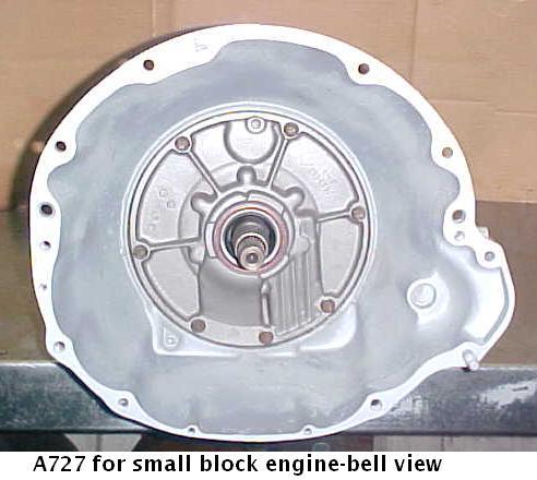 Chrysler A727 transmission